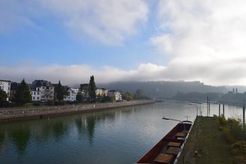 Koblenz im Nebel