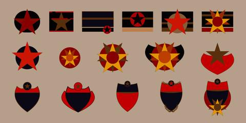 médaille, décoration, blason