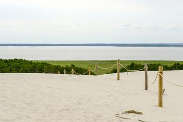 Wydmy w Słowińskim Parku Narodowym, Łeba