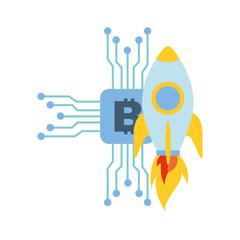 bitcoin virtual money rocket success