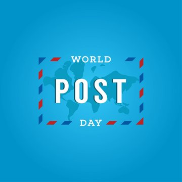 World Post Day Design