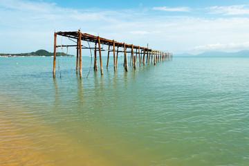 Pier in Ko Samui