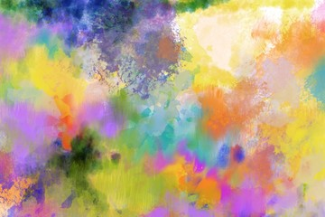 Abstract spring bold painted splash grundge background for spring summer and party backdrop or any art need