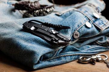 stainless steel pocketknife