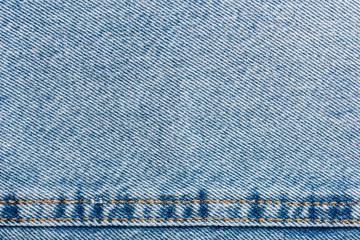 Jeans Pocket Closeup With Denim Texture Details