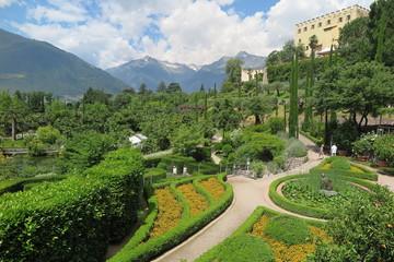Die botanischen Gärten von Schloss Trautmannsdorf, Südtirol