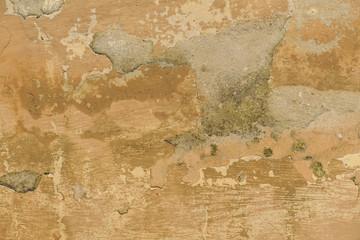 Fotobehang Oude vuile getextureerde muur Schäden an der Wand