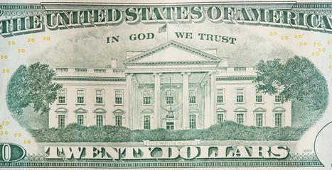 Back of 20 dollar bill