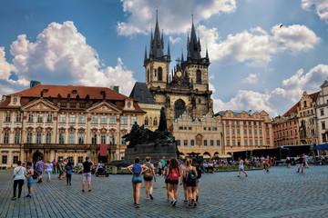 Photo sur Toile Europe Centrale Prag, Altstädter Ring