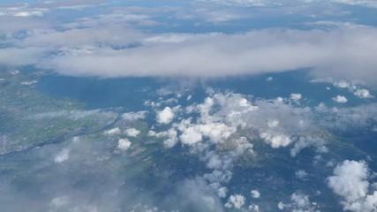 Wall Mural - 飛行機から見る風景