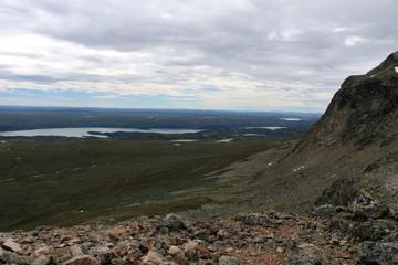 Prestholtskarvet in norway height 1863 meter