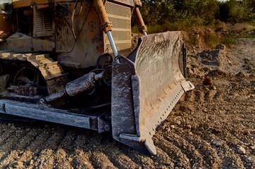 tractor closeup transport