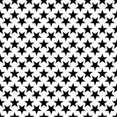 Stylish seamless starry pattern. Endless stylish texture.