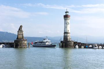 Lindau, Bodensee, Schiff, Schweiz