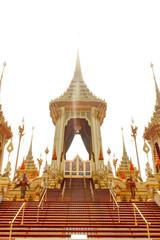 Bangkok, Thailand - November 04, 2017; The Royal Crematorium for the late King Bhumibol Adulyadej  at November 04, 2017
