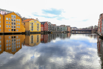 Old part of Trondheim