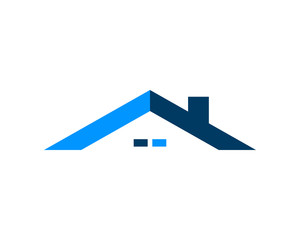 Roof house logo icon, Vector