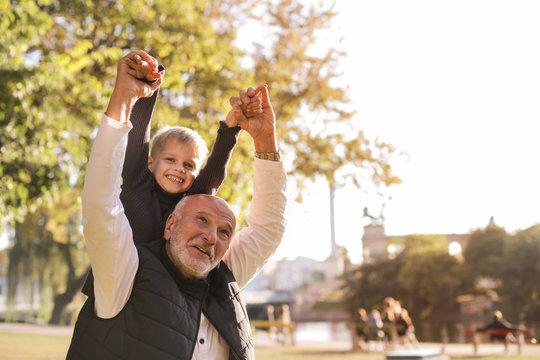 A day with Grandpa