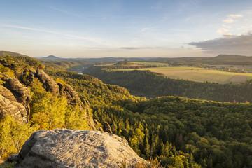 Fototapete - Sächsische Schweiz - Schrammsteine
