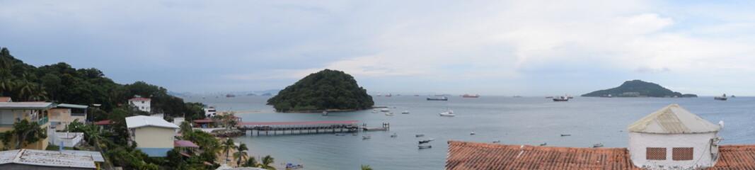 Ligurie Taboga, una isla a 20 minutos de la Ciudad de Panamá. Un sitio para los artistas.
