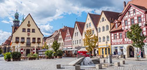 Panorama Lauf an der Pegnitz Altstadt