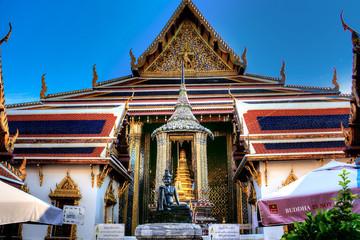 タイバンコク  ワットプラケオ寺院