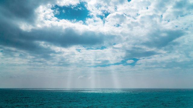 seascape of wuzhizhou island