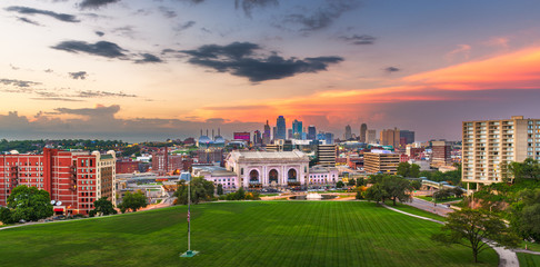 Wall Mural - Kansas City, Missouri, USA Skyline