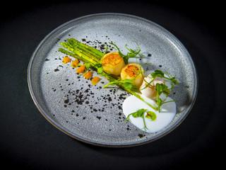 Sea Scallop With Asparagus 2