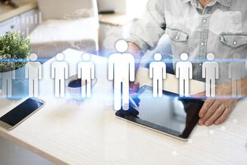 HR Human resources management. Recruitment, Hiring, Team Building. Organisation structure.