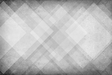 white background with geometric triangle and diamond pattern with paint spatters and black grunge textured borders