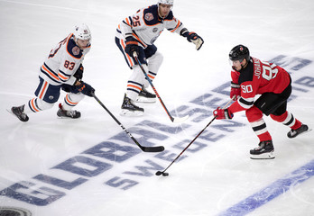 2018 NHL Global Series Edmonton Oilers and New Jersey Devils