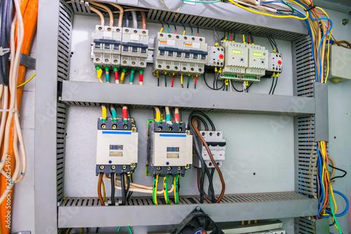 Machine Wiring Circuit Box on