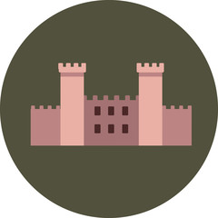 Castle Flat Icons