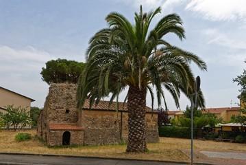 Italien - Toskana - Venturina - Mausoleo Romano di Caldana