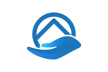 house care logo inspiration isolated on white background