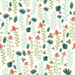 Beautiful Seamless Floral pattern design