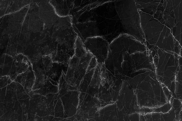 Black marble texture abstract background,Natural monochrome  patterns