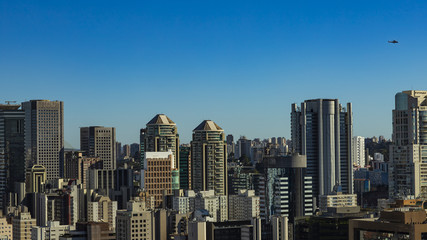Largest cities in the world. City of Sao Paulo, Brazil South America.