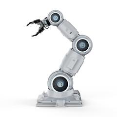 white robotic arm