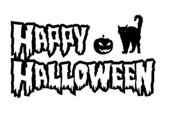 Halloween. background helloween. pumpkin smile. happy halloween inscription. the background. the bats. celebration.