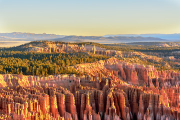Bryce Canyon National Park with beautiful Sunrise