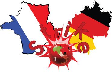 colpire  dell'Italia alla Francia e Germania