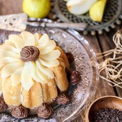 Charlotte poire et chocolat 1