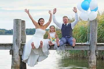Hochzeit am Steg