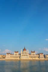 Wall Mural - Budapest parliament and Danube river, Hungary
