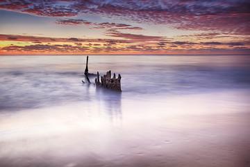 Sunrise SS Dicky at Dicky Beach, Caloundra, Australia