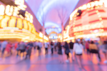 Tuinposter Las Vegas Las Vegas Blurred background night