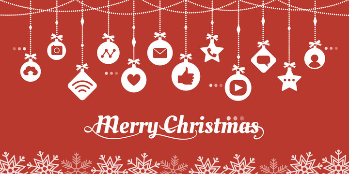 Internet icons and Christmas wishes