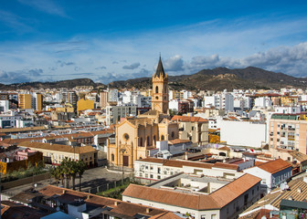Zelfklevend Fotobehang Palermo Charming narrow historic streets of white village Frigiliana in Malaga province,Andalusia,Spain